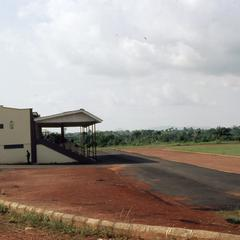 Olashore International School stadium stands