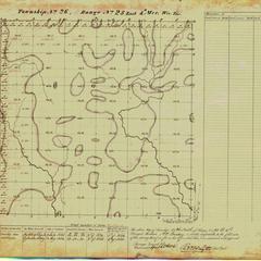 [Public Land Survey System map: Wisconsin Township 26 North, Range 25 East]