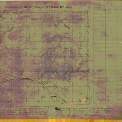[Public Land Survey System map: Wisconsin Township 36 North, Range 09 West]