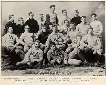 The UW Football Team-1892