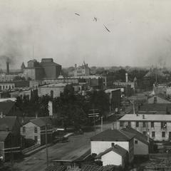 View of Kenosha from Simmons plant