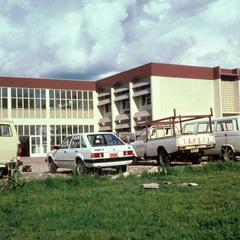 Rector's Building at the University of Burundi