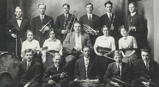 Orchestra, 1912-1913