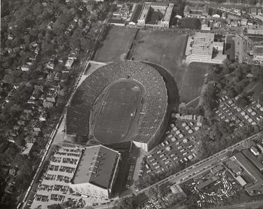 Camp Randall aerial view