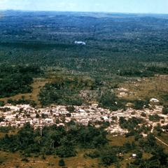 Aerial View of Village in Kwilu Area