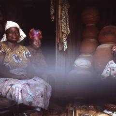 Pottery at Ilesa market