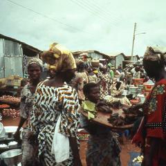 Shops within the Ilesa market