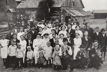 Polish-American farm wedding