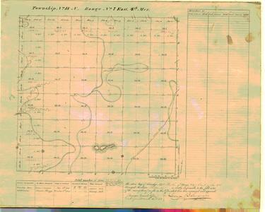 [Public Land Survey System map: Wisconsin Township 18 North, Range 07 East]