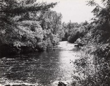 Popple River proposed dam