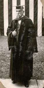 President Birge at 1923 Commencement