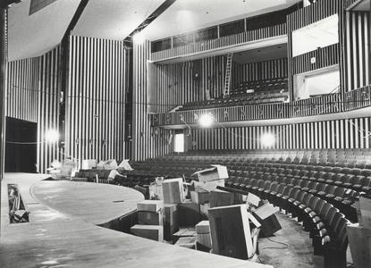 Communication Arts building theater under construction