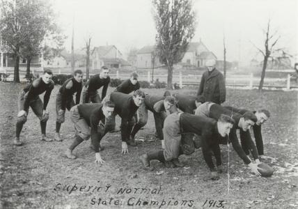 Superior Normal State football champions 1913