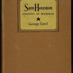 Sam Houston : colossus in buckskin