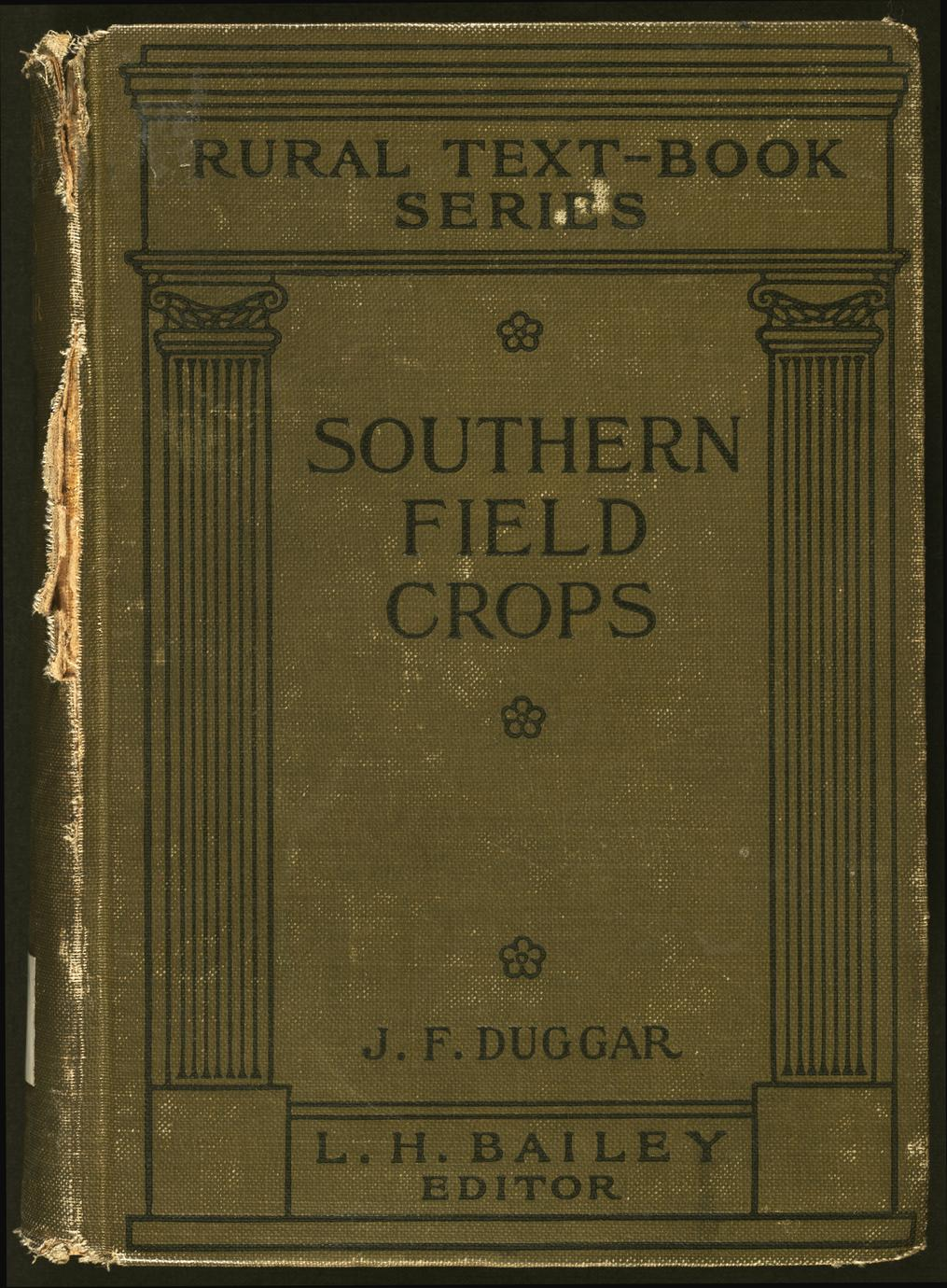Southern field crops : exclusive of forage plants (1 of 2)