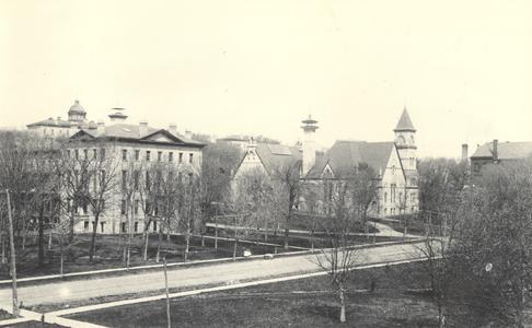 Bascom Hill, ca. 1887-1895