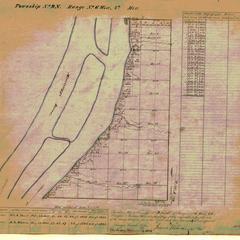 [Public Land Survey System map: Wisconsin Township 09 North, Range 06 West]
