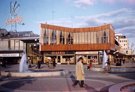 New shopping center, Stockholm