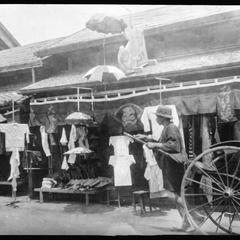 Clothing store at . . .