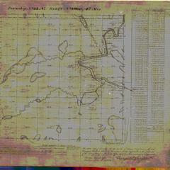 [Public Land Survey System map: Wisconsin Township 33 North, Range 08 West]
