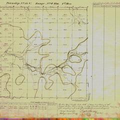 [Public Land Survey System map: Wisconsin Township 15 North, Range 06 West]