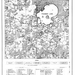 Parts of towns of Sugar Camp and Three Lakes