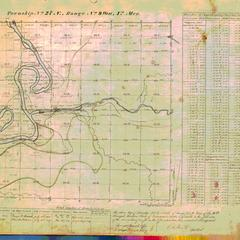 [Public Land Survey System map: Wisconsin Township 27 North, Range 09 West]