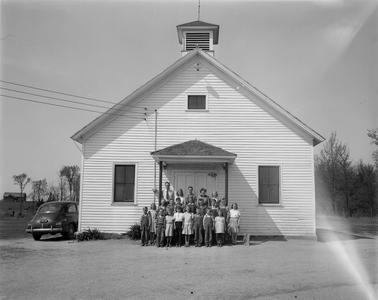 Johnson School-Town of Cleveland, Marathon County, WI