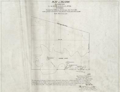 [Public Land Survey System map: Wisconsin Township 44 North, Range 06 East]