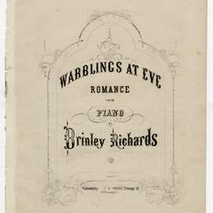 Warblings at eve