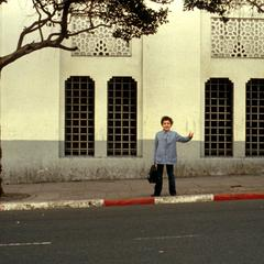 Schoolchild in Older Section of Algiers