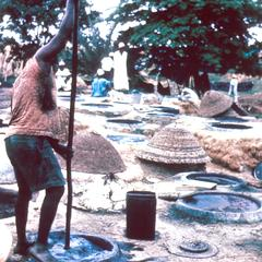 The Pits for Dyeing Cloth with Indigo at Kano