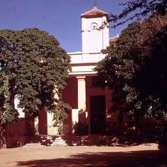 Eighteenth Century Catholic Church in the Center of the Town on the Island of Gorée