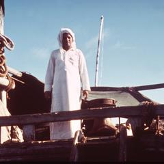 Captain of the Dhow (Sailboat)
