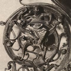 Dialectica from the Bronze Chandelier, Milan Cathedral