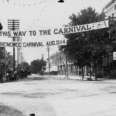 North Main Street, Oconomowoc Street Carnival, signs