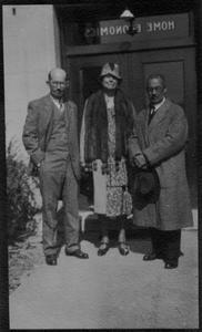 Group photograph of Peterson, Marlatt, Sherman