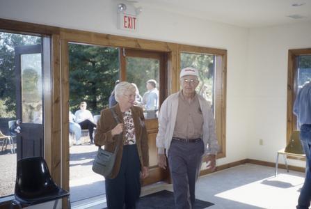 Gertrude Sherman Building dedication