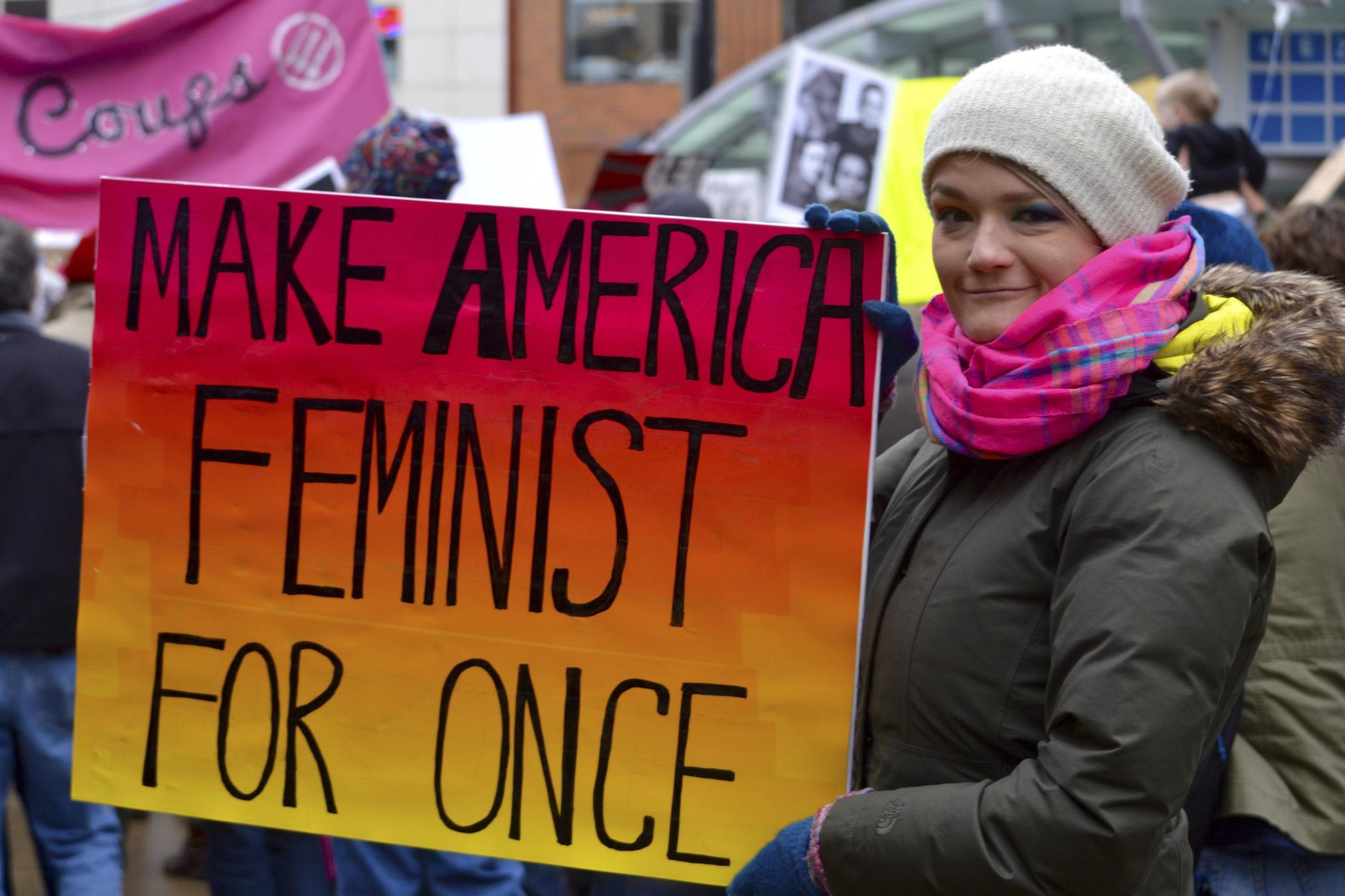 Make America Feminist For Once
