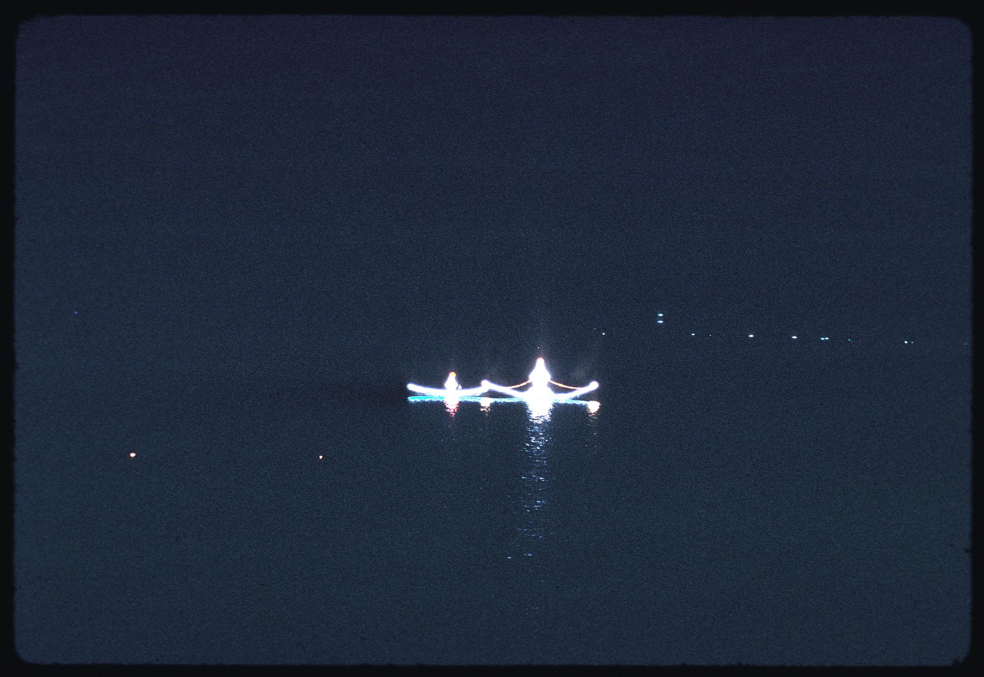 Boat races--nighttime