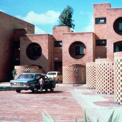 Modern Architecture on Flats in Lusaka