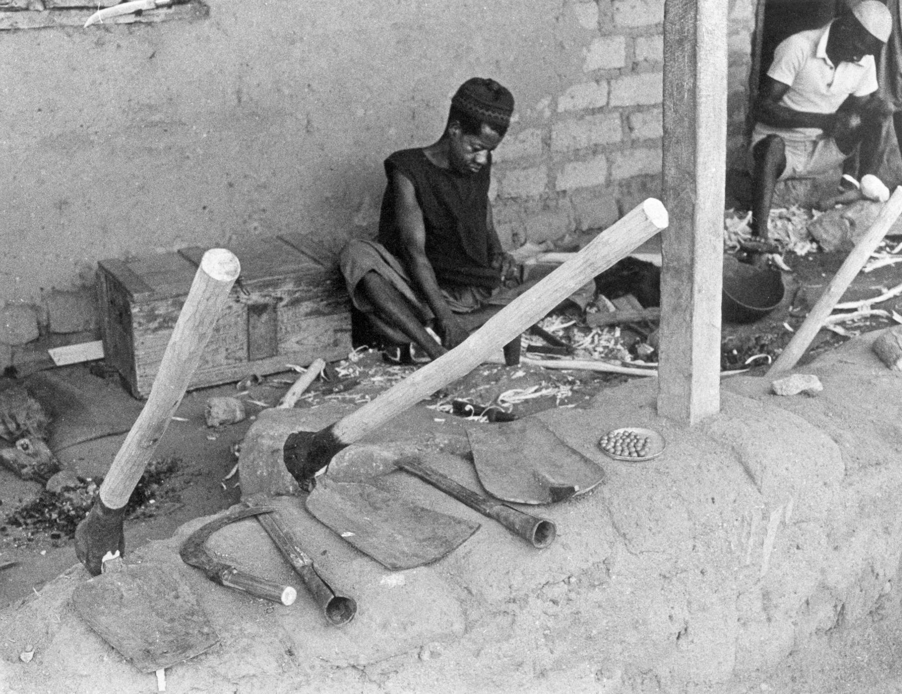 Blacksmiths Selling Farming Tools