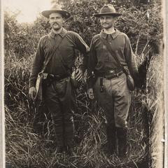 Bruner and Schuele, Constabulary School, Manila 1906