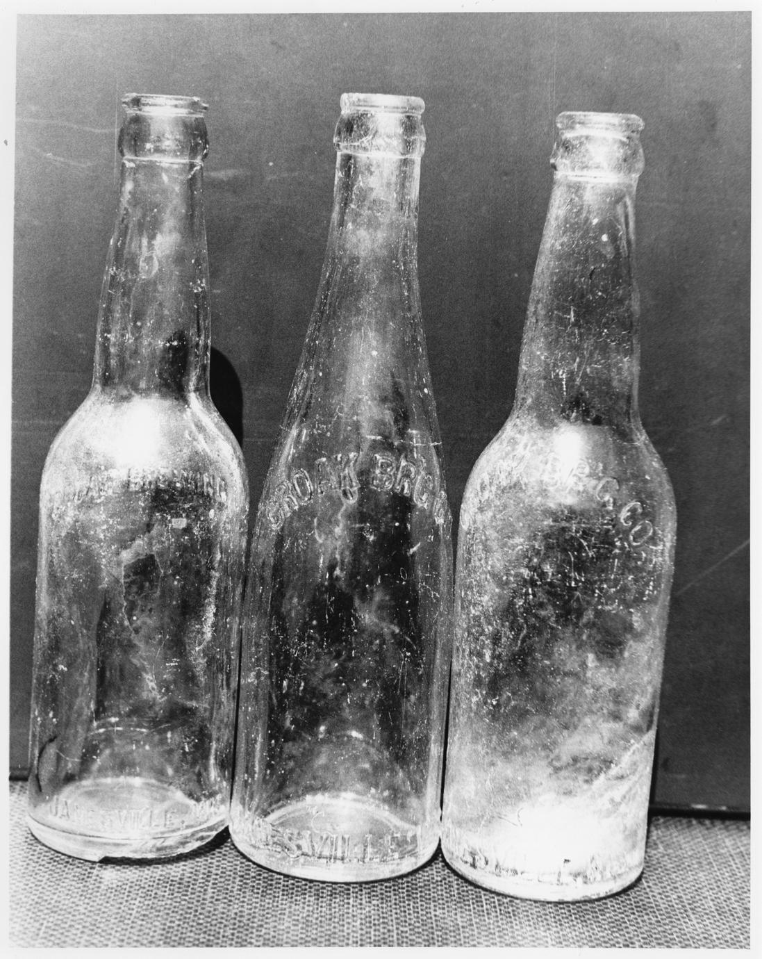Croak Brewery bottles