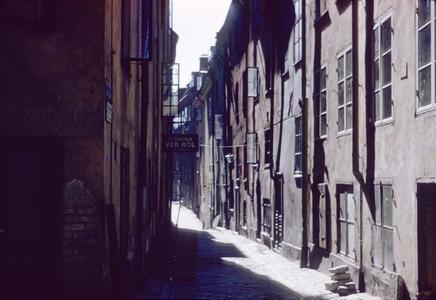 Swedish alleyway