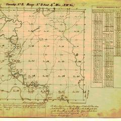 [Public Land Survey System map: Wisconsin Township 03 North, Range 03 East]
