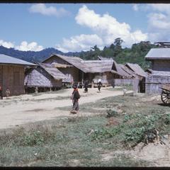 Yao village--streets