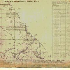 [Public Land Survey System map: Wisconsin Township 20 North, Range 14 East]