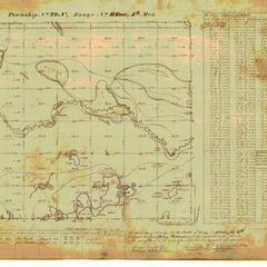 [Public Land Survey System map: Wisconsin Township 22 North, Range 11 East]