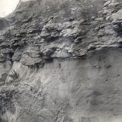 Contact between Jordan Sandstone and Oneota Limestone
